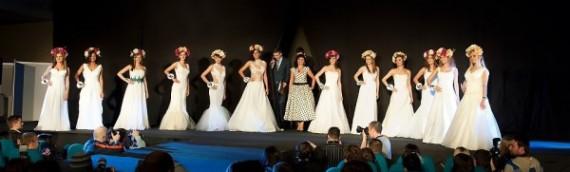 Pokaz sukien Kamy Ostaszewskiej podczas Miss AWF 2013