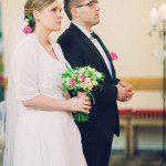 Natalia Burał w sukni ślubnej od Kamy Ostaszewskiej z Poznania