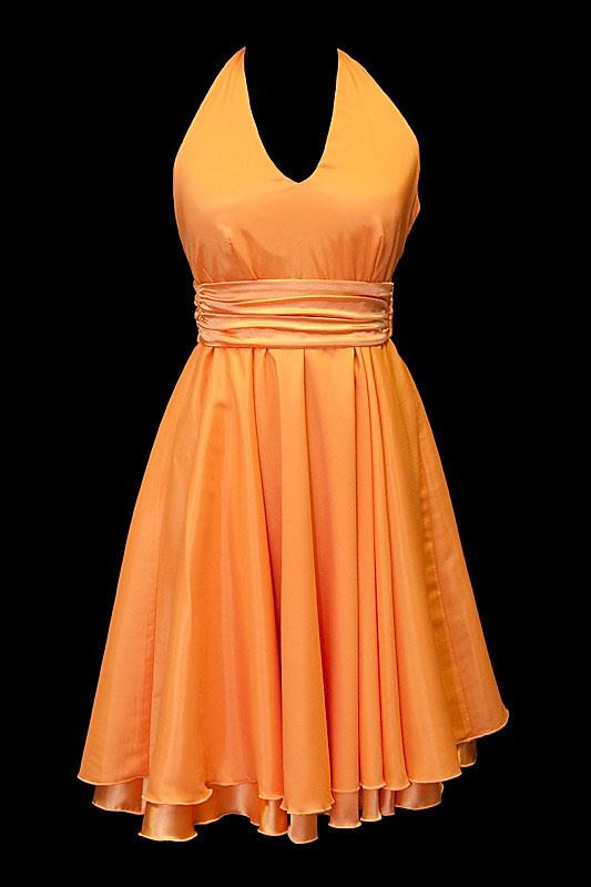 Zwiewna sukienka na wesele dla druhny i świadkowej.