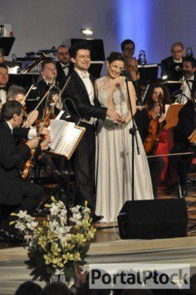 Natalia Rubiś-Krzeszowiak i Krystian Adam Krzeszowiak w Płocku
