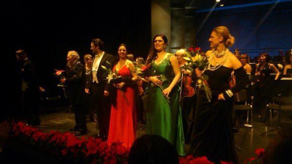 Marcelina Beucher w naszej suknia na koncercie sylwestrowym 2014/2015