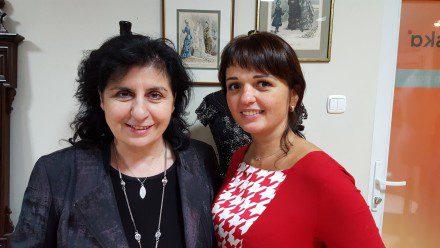 Eleni i Kama Ostaszewska