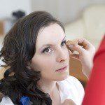 Początki makijażu ślubnego (Natalia Rubiś-Krzeszowiak).