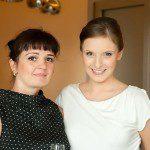 Natalia i ja przez występem dla projektu Wieczna Miłość.