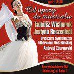 Plakat promocyjny: Justyna Reczeniedi w mojej sukince