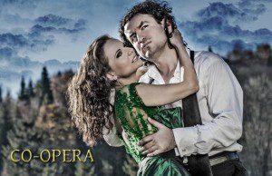 Plakat Co-opera Justyna Reczeniedi i Krystian Adam Krzeszowiak