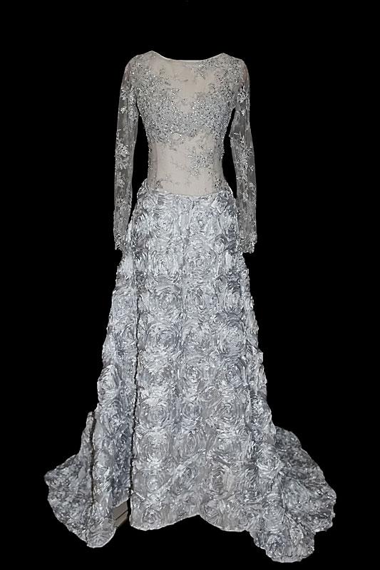 Suknia wieczorowa do projektu Co-opera