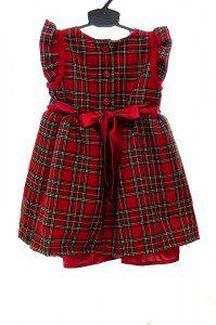 Sukienka w szkocką kratę