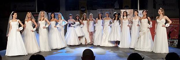 Pokaz na Miss AWF Poznań 2010