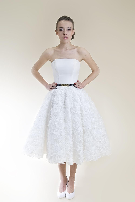 7d7eab0b47 Krótkie suknie ślubne